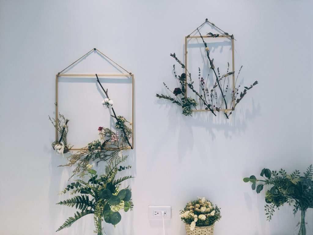 Kuru Çiçeklerle Dekorasyon Fikirleri