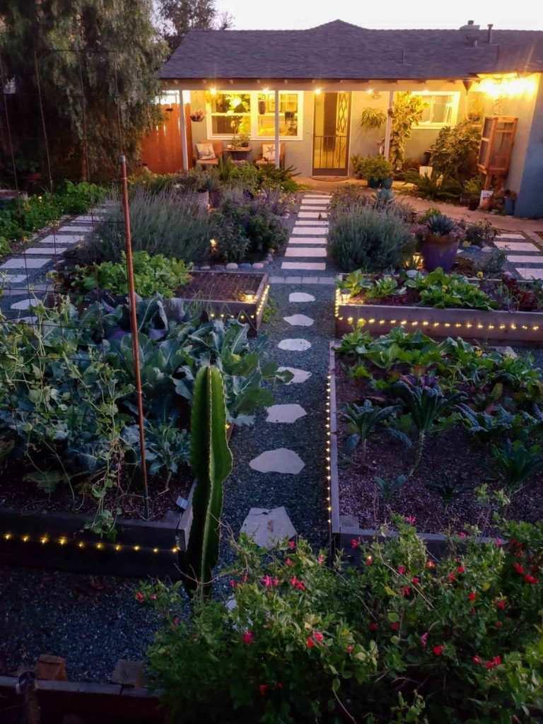 Peyzaj elemanları hobi bahçesi