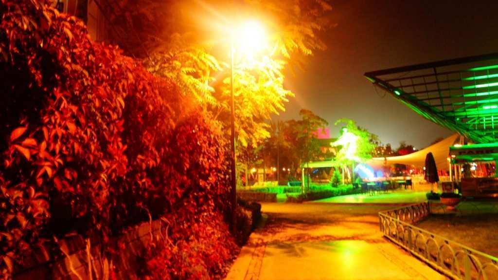 Ankaranın parkları: Gençlik Parkı Gece Görüntüsü